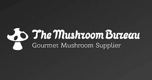 The mushroom bureau logo
