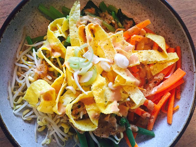 Indonesian Egg Salad