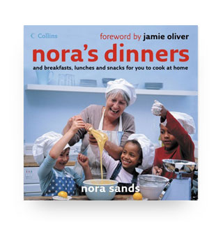 'Nora's Dinners' book cover
