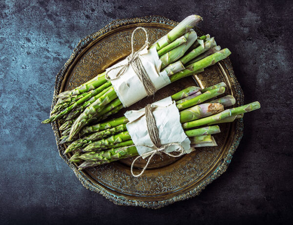 2 bunches of fresh asaparagus