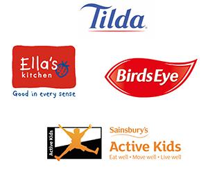 Food brand logos