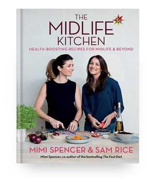 'The Midlife Kitchen' book cover