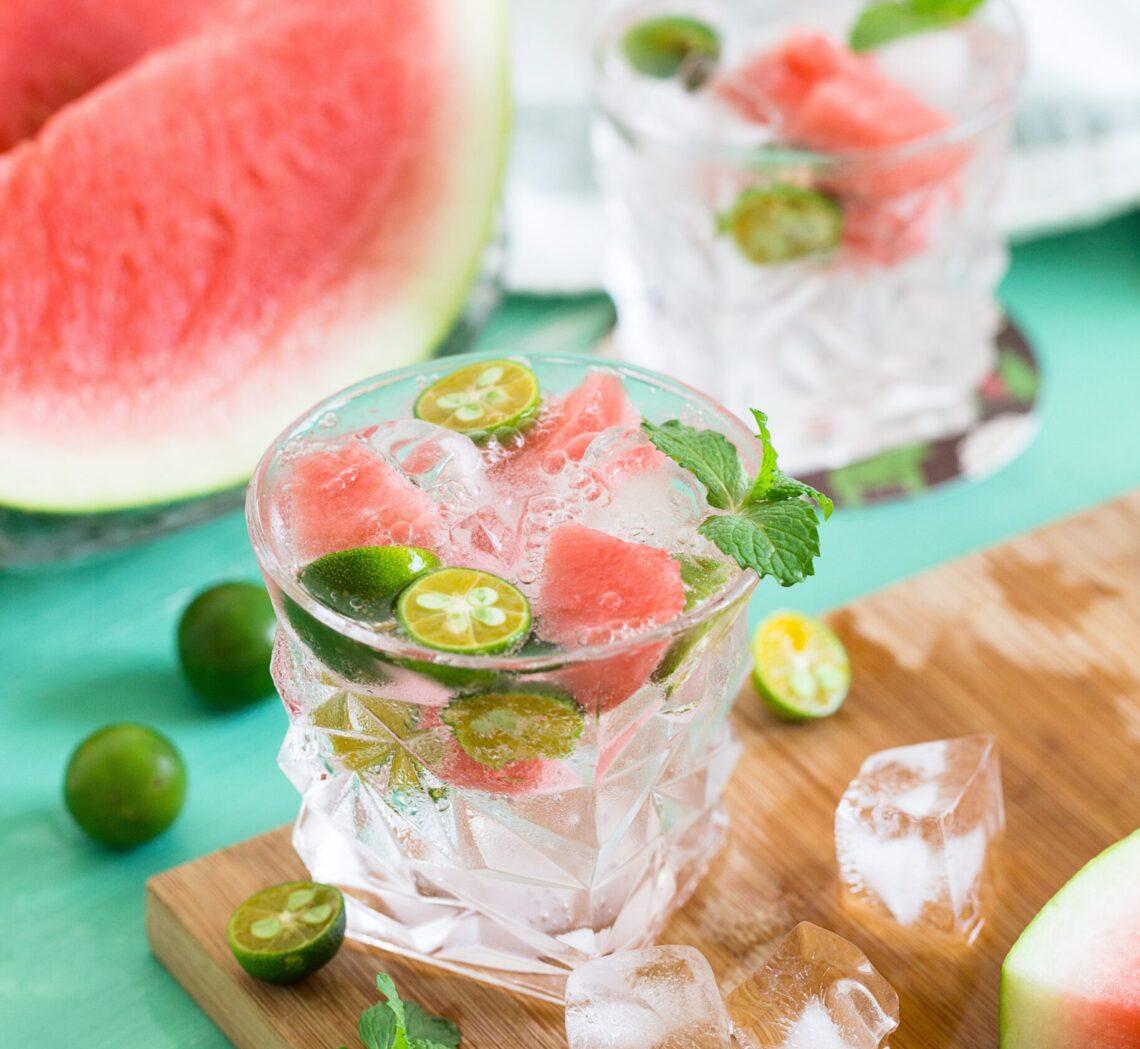 watermelom summer drink